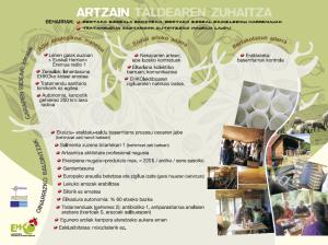 Artzain taldea zuhaitza 2013
