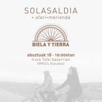 BIELA Y TIERRArekin SOLASALDIA